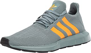 adidas Originals Men's Swift Running Shoe, raw Green/Real...