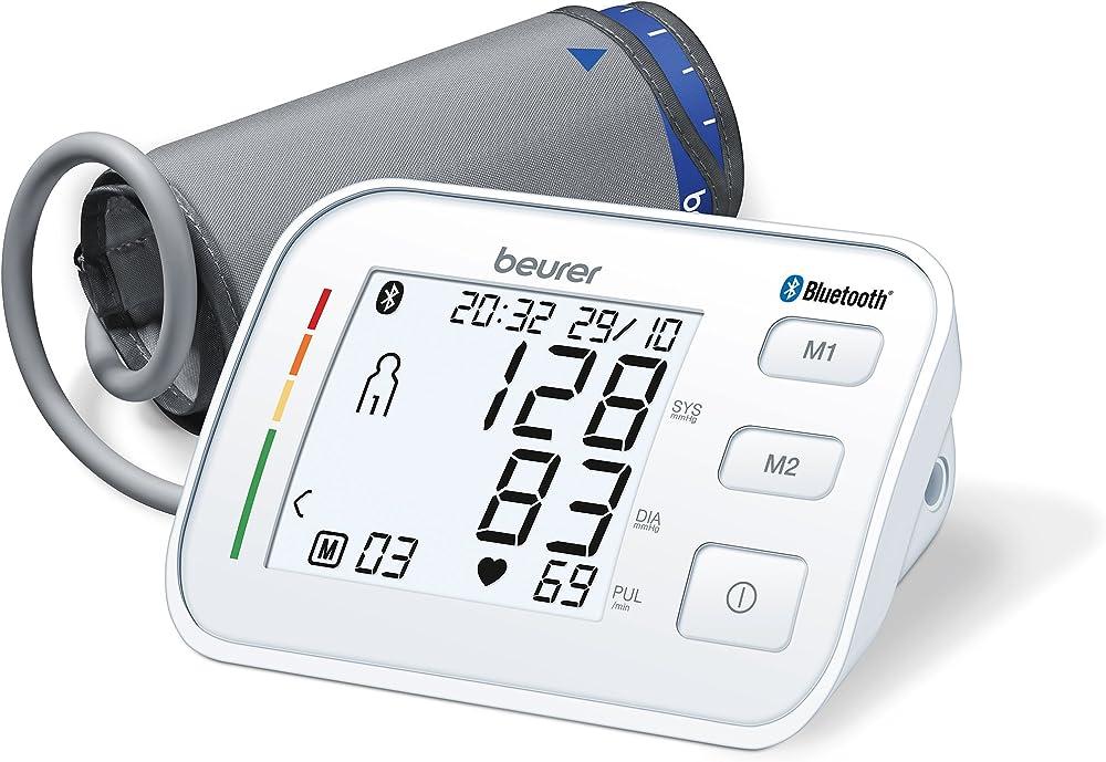 Beurer bm 57, misuratore di pressione da braccio bluetooth 658.22