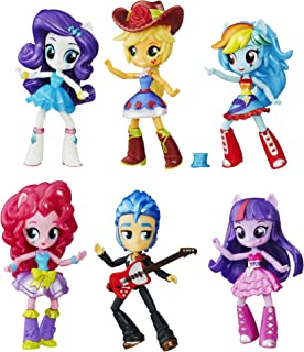 Hasbro B8892 - My Little Pony Toy - Equestria Girls School Dance Collection - 6 x Mini Doll Playset