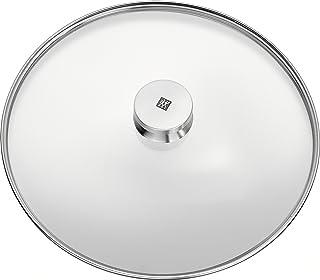 Zwilling 40990–932 - Tapa de vidrio transparente y acero inoxidable, 32 cm