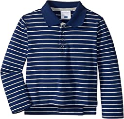 Long Sleeve Polo Shirt (Toddler/Little Kids/Big Kids)
