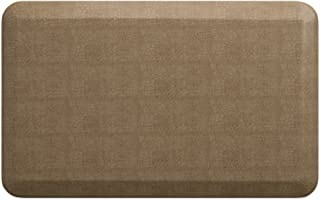 """NewLife by GelPro Anti-Fatigue Designer Comfort Kitchen Floor Mat, 20x32"""", Pebble Wheat Stain Resistant Surface with 3/4"""" Thick Ergo-foam Core for Health and Wellness"""