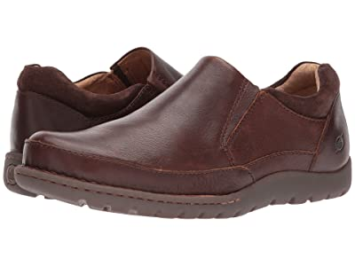 Born Nigel Slip-On (Brown/Dark Brown Combo) Men