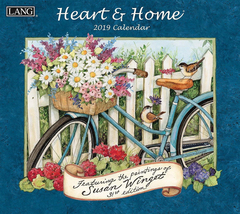 Die Die Die lang-Unternehmen Heart & Home 2019 Wandkalender (19991001913) B079H1TWVK | Zart  801b7c
