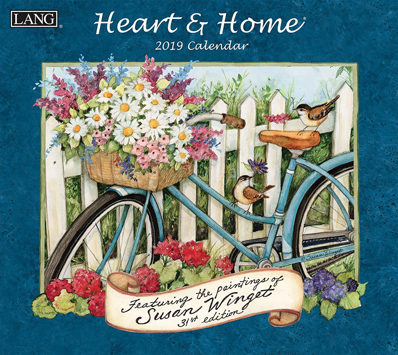 Die lang-Unternehmen Heart & Home 2019 2019 2019 Wandkalender (19991001913) B079H1TWVK | Zart  86c0ae