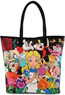 Loungefly x Disney Alice Character Print Tote Bag