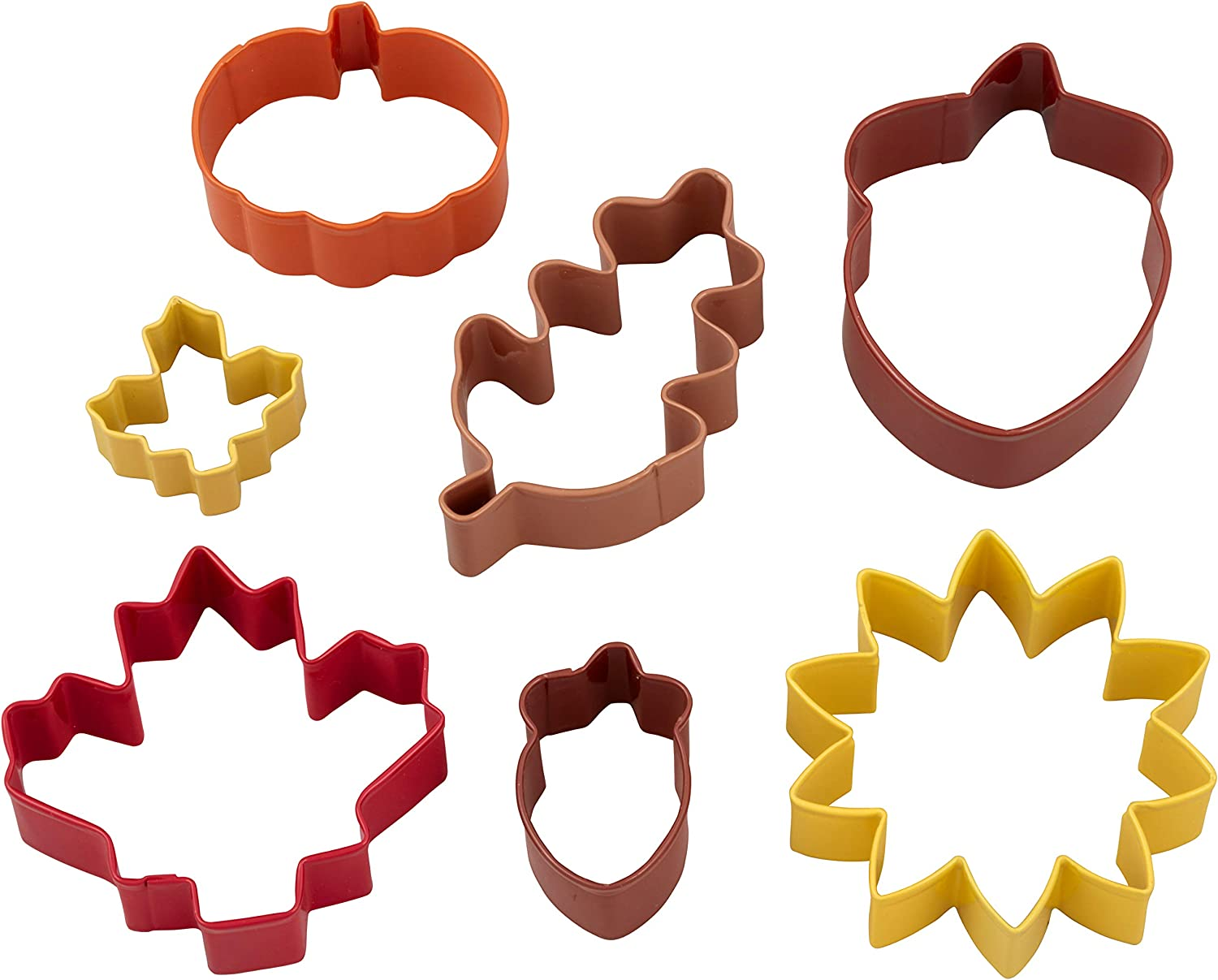 Wilton 35% OFF Fall Metal Mail order Cookie 7-Piece Cutter Set