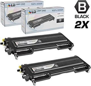 LD Compatible Toner Cartridge Replacement for Brother TN350 (Black, 2-Pack)