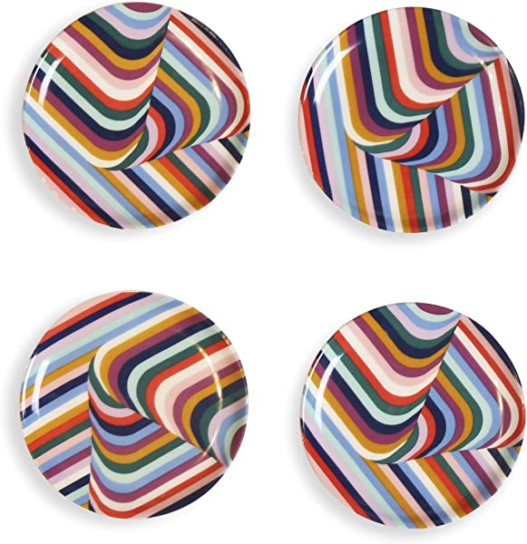 Now House By Jonathan Adler Vertigo Coasters Multi