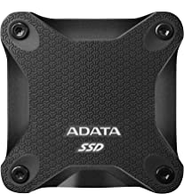 ADATA SD600Q 960GB 3D NAND USB3.2 Ultra-Speed External Solid State Drive Read up to 440 MB/s Black (ASD600Q-960GU31-CBK)