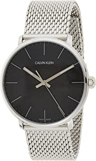 Calvin Klein Men's Quartz Watch, Analog Display and Stainless Steel Strap K8M21121