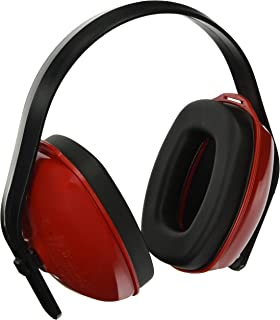 Howard Leight by Honeywell QM24+ Multi-Position Dielectric Safety Earmuff (QM24), Red