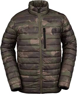 Men's Puff Give Bubble Goose Nylon Full Down Snow Jacket