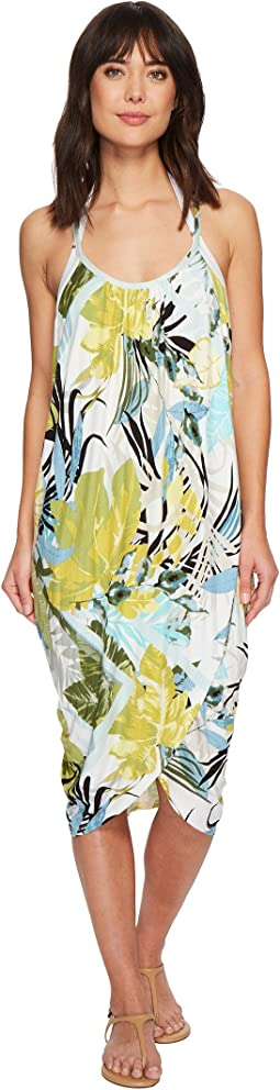 Green Dragon - Tropicaley Genevieve Wrap Dress