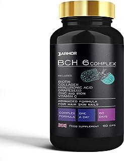 Biotina Colágeno Ácido Hialurónico Zinc Vitamina C Crecimiento