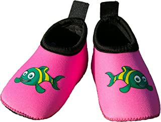 Swim Buddies Baby Swim Shoes - The BEST WATER SHOES for Beach, Pool, Lake - Toddler Aqua Socks - Lightweight & Comfortable Swimming Shoes