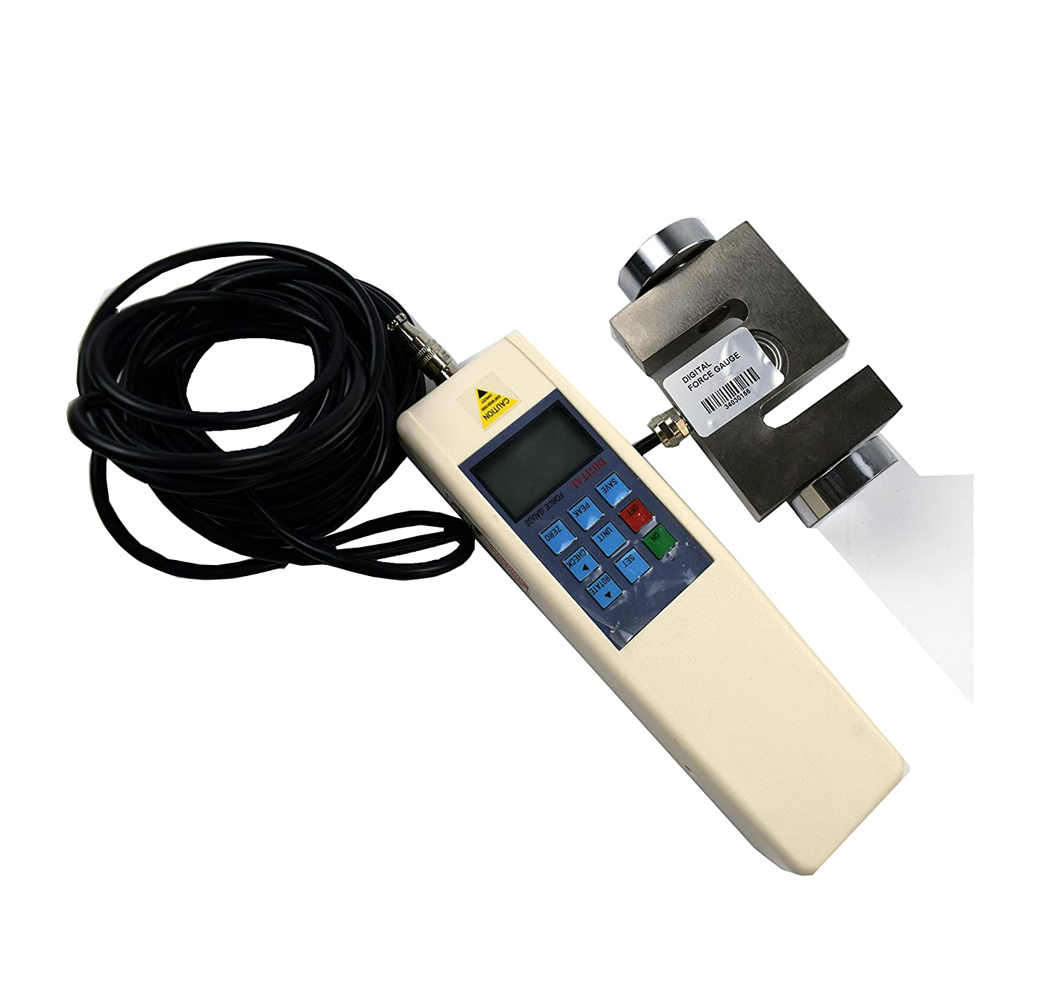 CNYST Free shipping on posting reviews Digital Force Gauge Handheld Sale special price Pull Push Meter Tester Dynamo