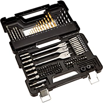 AmazonBasics - Juego de brocas y accesorios de destornillador y ...