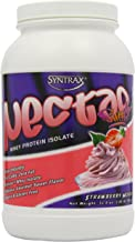 Syntrax Nectar 907 g Strawberry Mousse Whey Protein Isolate Drink Powder Estimated Price : £ 43,96