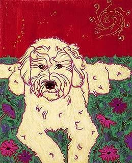 goldendoodle pop art