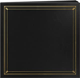 Pioneer BSP-46/BK Photo Albums 204-Pocket Post Bound Leatherette Cover Photo Album for 4 by 6-Inch Prints, Black