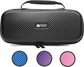 Elegant Nurse Stethoscope Case – Zipper Pocket Secures Nurse Accessories (Black)