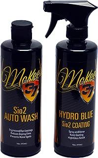 McKee's 37 MK37-630690 32 fl. oz, 1 Pack Hydro Blue / Sio2 Auto Wash 32 oz. Combo