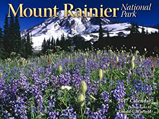 Mount Rainier National Park 2017 Calendar