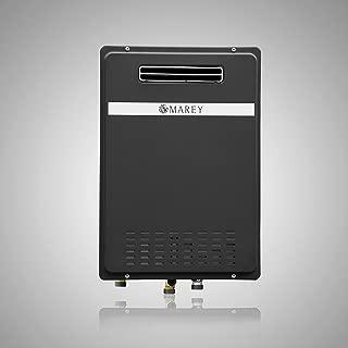 Marey GA26ONG Natural Gas Tankless Water Heater, Outdoor Unit, 180.000 Btu, Medium, Black