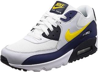 size 40 359e3 eb987 Nike Air Max 90 Essential, Baskets Basses Homme, White White White 100, 47.5
