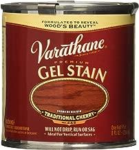 Varathane 224499 Premium Gel Stain, Half Pint, Traditional Cherry