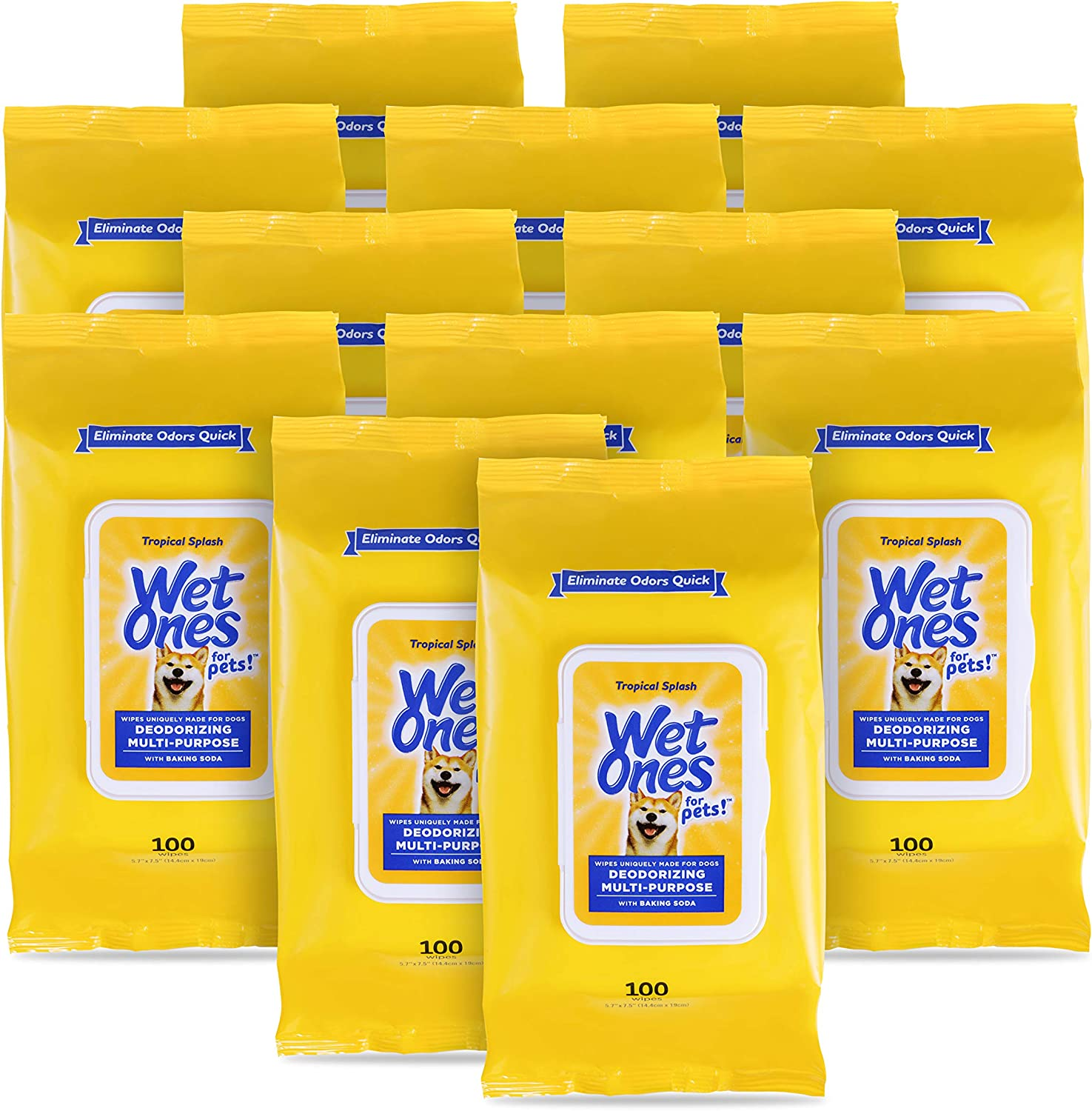 Wet Max 90% OFF Ones for Pets Bargain sale Deodorizing With Dog Wipes Multi-Purpose Bakin