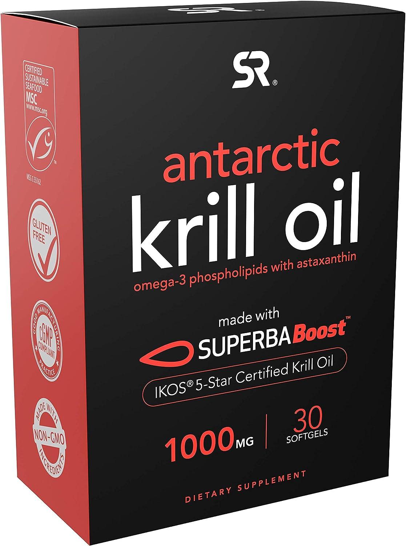 Superba Boost® Antarctic Charlotte Mall Krill Oil w 1000mg Per Max 87% OFF Softgel