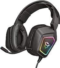 Trust Gaming GXT 450 Blizz Cuffie Gaming, Over-Ear con Illuminazione RGB e Suono Surround 7.1, Microfono Flessibile, per P...
