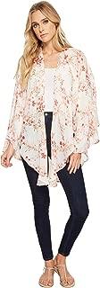 Collection XIIX Women's Bud Floral Tie Kimono
