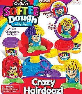 Cra-Z-Art Softee Dough Crazy Hairdooz Hair Shop Set