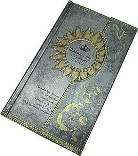 ファンタジー! アンティーク 風 ゴージャスで素敵な ノート 日記帳 ダイヤリー メモ帳 レッド・ブルー・グリーン・ゴールド (グリーン)