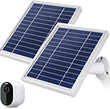iTODOS Solar Panel Works for Arlo Essential Spotlight Camera, 11.8Ft Outdoor Power Charging Cable and Adjustable Mount,Cha...