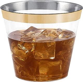 plastic transparent cups