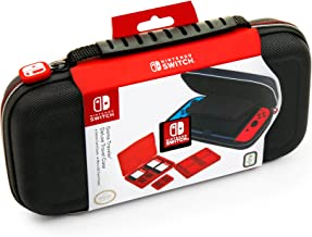 BigBen Interactive Protective Deluxe Travel Case Console compatible:Nintendo Switch,Noir