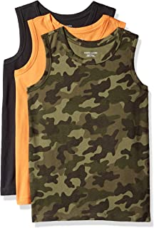 Amazon Essentials Boys' 3-Pack Tank