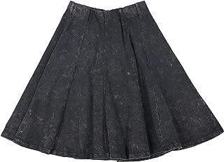 hardtail denim skirt