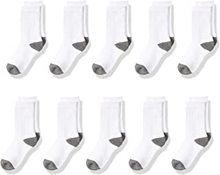 Kids' 10-Pack Cotton Crew Sock