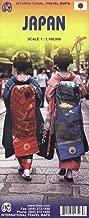 Japan 1:1,100,000 Travel Map (International Travel Maps)