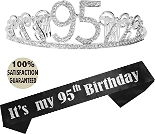 95th Birthday Tiara And Sash Happy Party Supplies Its My