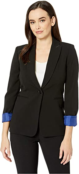 Bistretch One-Button Jacket