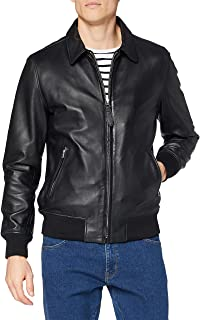 Schott NYC Men's Veste Classique Bord Cote Leather Jackets