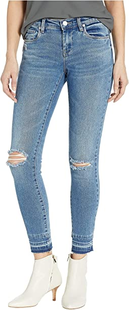 The Reade Crop Denim Skinny in Dance Off
