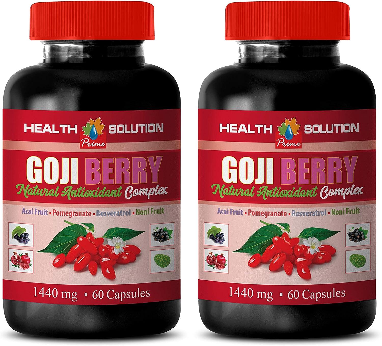 antioxidant Weight Loss Super intense SALE - Goji Natural Compl Berry Over item handling ☆ ANTIOXIDANT