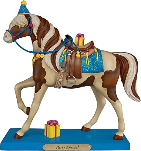 Trail of Painted Ponies Party Animal Cheval avec cadeaux figurine 4049717